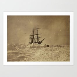 Bradford, William. THE ARCTIC REGIONS ILLUSTRATED WITH PHOTOGRAPHS TAKEN ON AN ART EXPEDITION TO GRE Art Print
