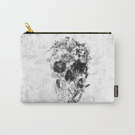 New Skull Light B&W Carry-All Pouch