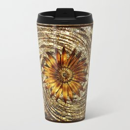 Animal Print Floral Glitter Pattern Travel Mug