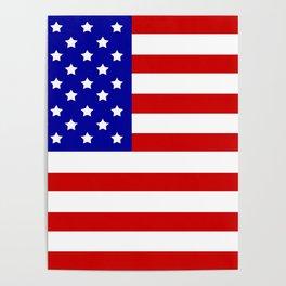 Original American flag Poster