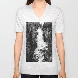 Alexander Falls Unisex V-Neck