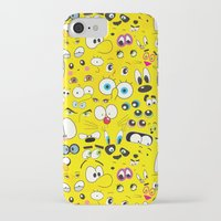 cartoon iPhone & iPod Cases featuring Cartoon by Javier Martinez