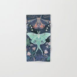 Luna Moth Hand & Bath Towel