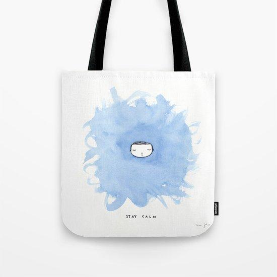 Stay calm Tote Bag