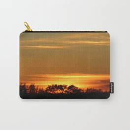 Sunset On The Prairies Carry-All Pouch