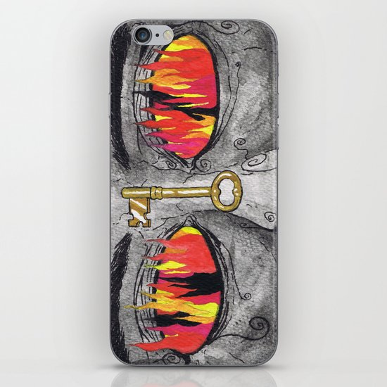 """The People's Key"" by Cap Blackard iPhone & iPod Skin"