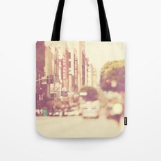 a memory. downtown Los Angeles photograph Tote Bag