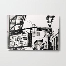 Jean Lafitte's Absinthe House Metal Print