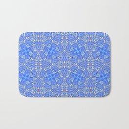 Intricate Moroccan Tile Mosaic Bath Mat