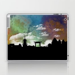 Kyoto Japan Skyline Cityscape Laptop & iPad Skin