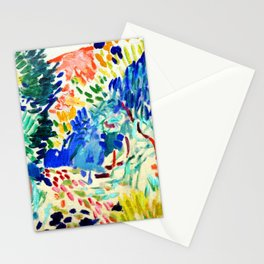Henri Matisse Landscape at Collioure Stationery Cards