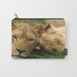 Asian Lions (Panthera leo persica) Carry-All Pouch
