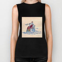 Sailing Ship XI Biker Tank