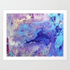 Blue Heaven Art Print