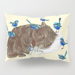 Wrens Wombat sleep Pillow Sham