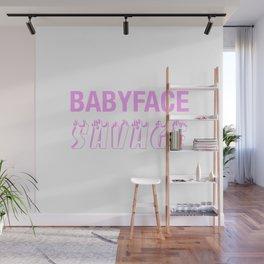 BABYFACE SAVAGE Wall Mural