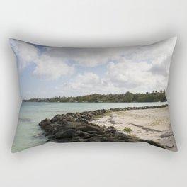 Abandoned Tropical Resort Rectangular Pillow