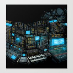 Parallel Thought - Art of Sound album cover artwork Canvas Print