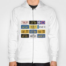 Famous Number Plates Hoody