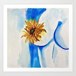 Floral Femme Art Print
