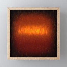 Digital Fire 1 Framed Mini Art Print