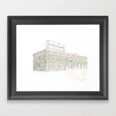 The Last Billboard (Day) Framed Art Print