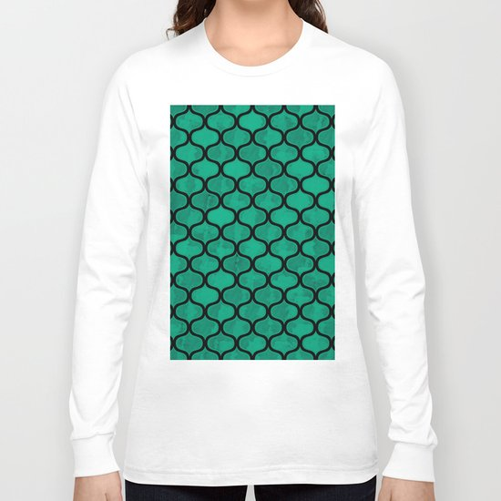 Lovely Pattern VV Long Sleeve T-shirt
