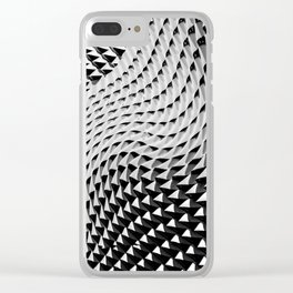Wall Waves Clear iPhone Case
