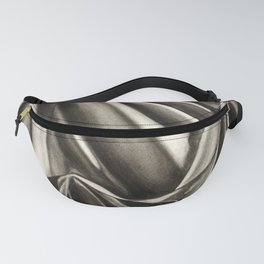 Draped cloth, charcoal drawing Fanny Pack