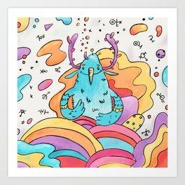 Air spirit Art Print
