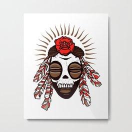 Voodoo Metal Print