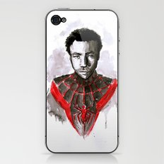 Donald for Spider-Man iPhone & iPod Skin