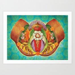 Psychotropical Kimchi Punani Art Print