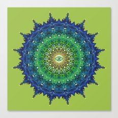 Eye of the Earth Canvas Print