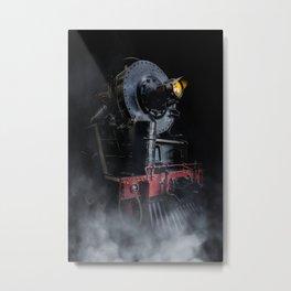 Steam Loco Metal Print