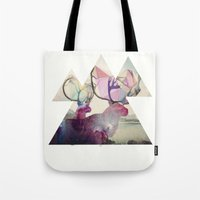 spirit Tote Bags featuring The spirit VI by Laure.B