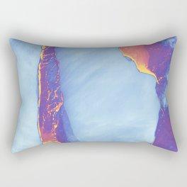 Thermal Iceberg | Warming Earth Rectangular Pillow