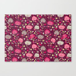 Fancy Floral Canvas Print