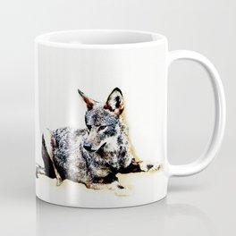 Wild Vermont Coyote Coffee Mug