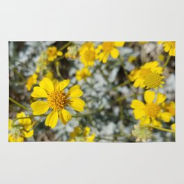 Yellow Blossoms Rug