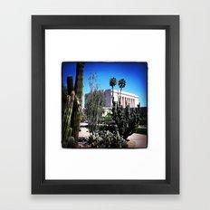Mesa AZ Temple Framed Art Print