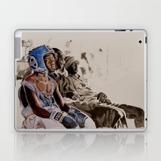 BRONX BOXING BOYS - sepia/blue version Laptop & iPad Skin