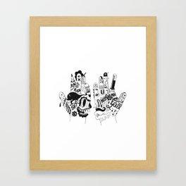 Ono Digitalis Framed Art Print