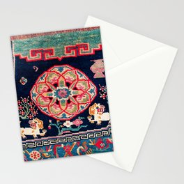Shigatse Makden South Tibetan Buddhist Saddle Cover Print Stationery Cards