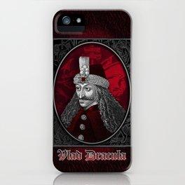 Vlad Dracula Gothic iPhone Case