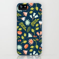Wilderness Flowers Scatter  Slim Case iPhone (5, 5s)