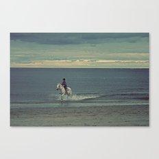 Nautica: Water Child Canvas Print