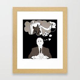 Georgie's Dreams Framed Art Print