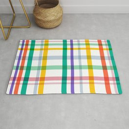 Plaid Checkered Patterns Rug