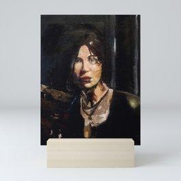 RTR Lara Croft Mini Art Print